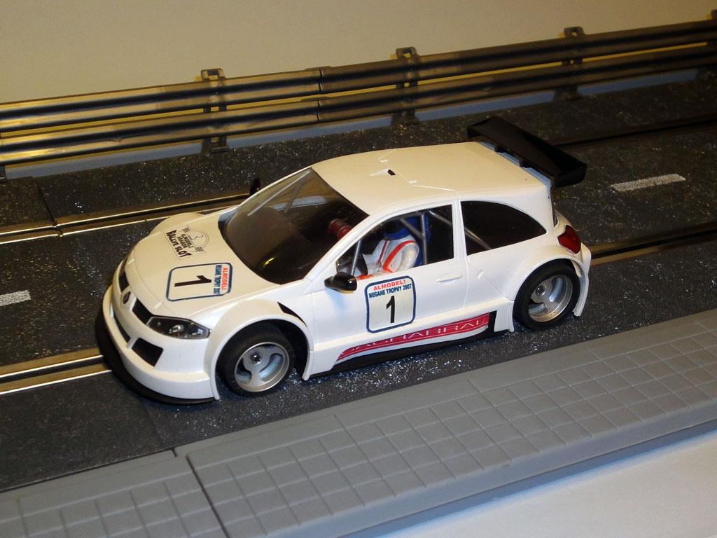 Elektrisches Spielzeug Cheap Sale Ninco 50452 Slot Car Renault Megane Trophy #10 Mcdonalds G.horion-r.kuppens Mb Spielzeug