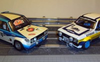 Fiat 131 Abarth & Ford Escort Mk.II Rally Slot 1/24