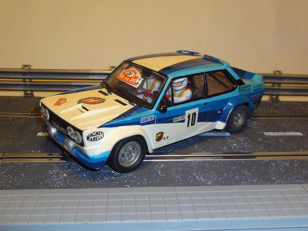 Fiat 131 Abarth Revell Clásicos Rally Slot 1/24