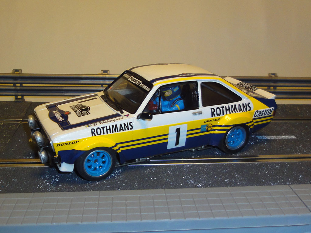 Ford Escort Mk.II Waldegard Rally Slot 1/24