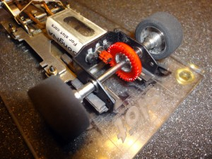 Mecanica Fiat 131 Abarth 1/24