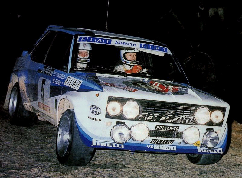 Fiat 131 Abarth Walter Rohrl