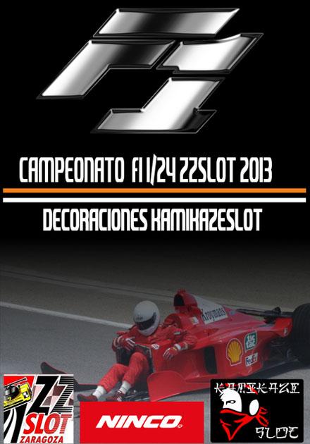 Campeonato F1 1/24 ZZSLOT
